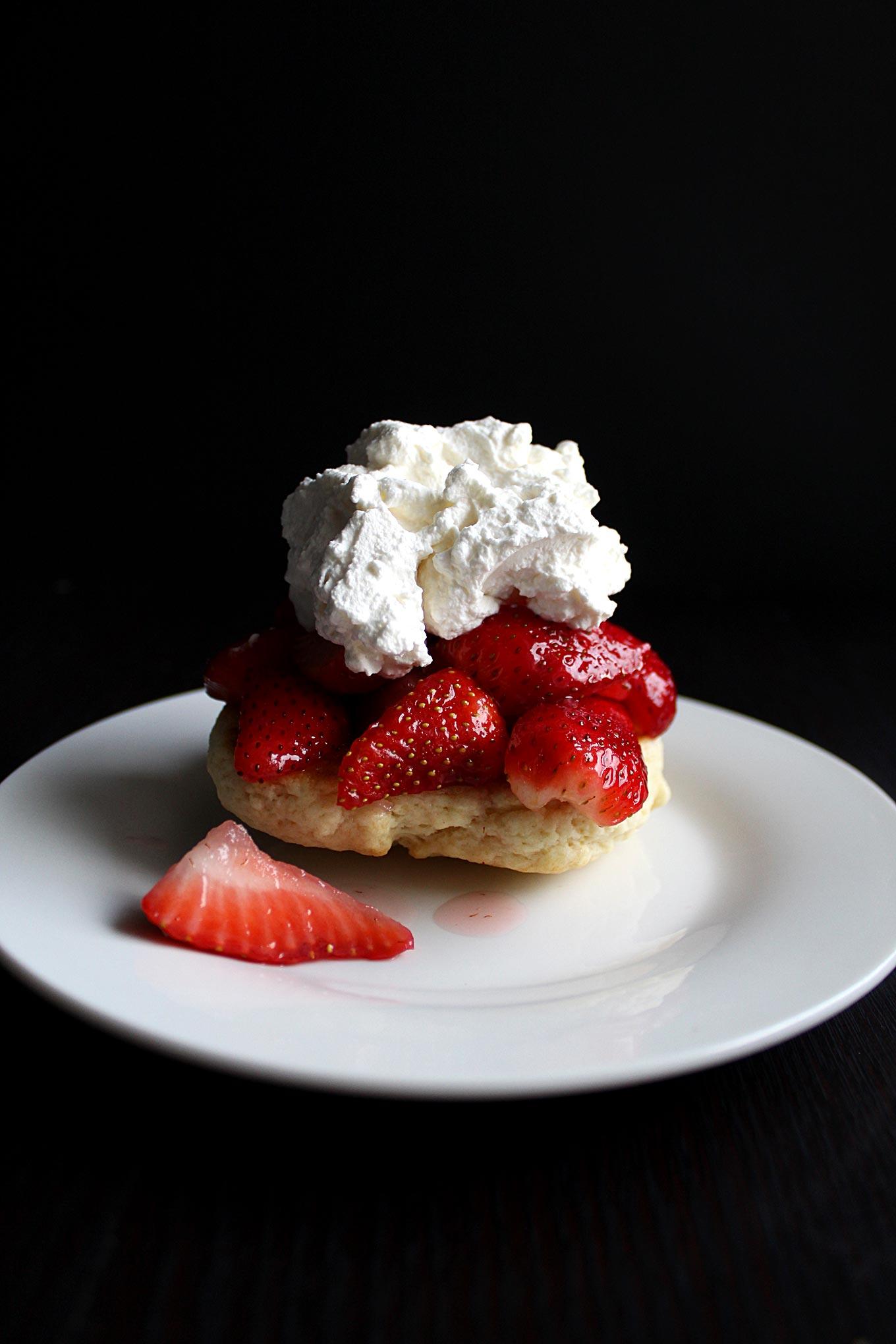 Strawberry Shortcake A Simple Homemade Dessert Wyldflour